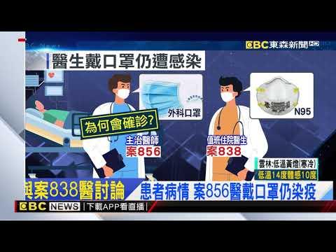 獨家》確診醫戴N95、案856戴外科口罩 病房內討論病情染疫@東森新聞 CH51
