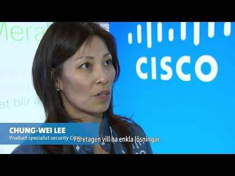Dustin  -  Chung Wei Lee, Cisco om IT-säkerhet