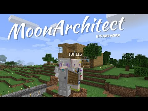 【Minecraft】Building time! Let's make a Barn!【Moona】
