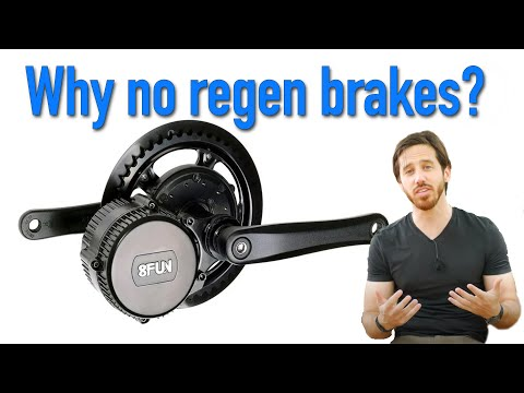 Why don't more electric bikes have regen brakes?