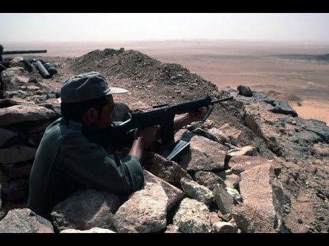 فيديو نادر للجدار الأمني في الصحراء حيث يرابط الجنود المغاربة