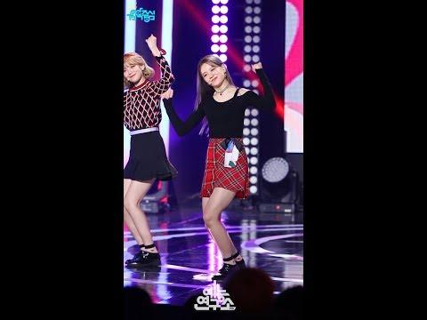 [예능연구소 직캠] 프로미스나인 LOVE BOMB 장규리 Focused @쇼!음악중심_20181020 LOVE BOMB fromis_9 Jang Gyuri