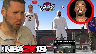 NBA 2K19 with J.R. SMITH! oh and Agent00 too