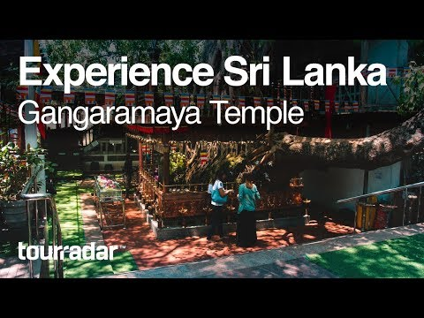 Experience Sri Lanka: Gangaramaya Temple