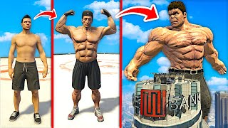 Upgrading To Be The STRONGEST MAN In GTA 5.. (Mods)
