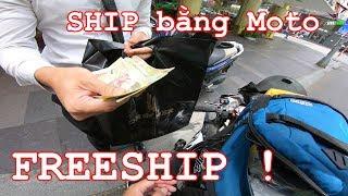 Phản Ứng Của Khách Khi Ship Hàng Bằng Phân Khối Lớn ! - Reaction ZX10R Shipper