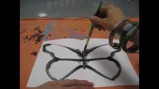Symmetrical Butterfly Prints for Kids
