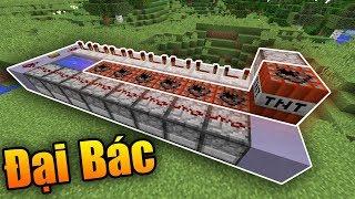 Cách Làm Đại Bác Trong Minecraft - Hàng Xóm Của FakeMG