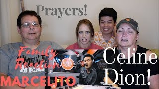 AMERICAN FAMILY REACTION TO MARCELITO POMOY (CELINE DION) PRAYERS