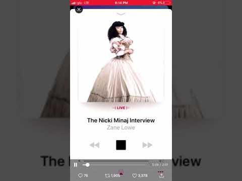 Nicki Minaj Talking About Cardi B And The Migos! She Cries! April 11 2018 Nicki Interview!