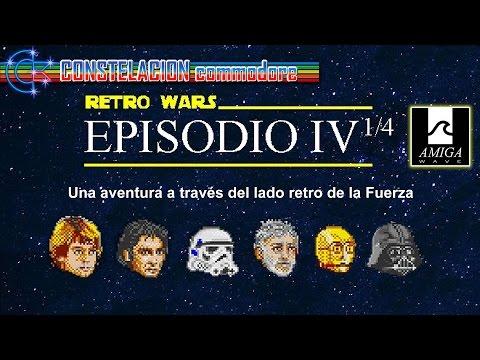 Retro Wars Ep IV 1/4: El lado Retro de la Fuerza (Amiga) (2016)