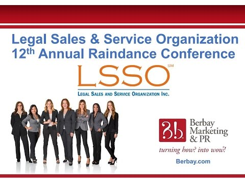 Legal Sales & Service Organization 12th Annual Raindance Conference