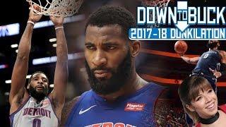 Andre Drummond All 144 Dunks Full Highlights (2017-18 Season Dunkilation)