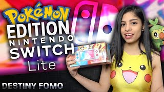 Nintendo Switch Lite Pokemon edition Sword and Shield