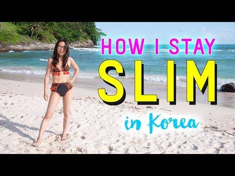 How I Stay Slim in Korea