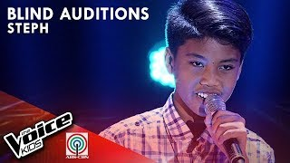 Wildflower by Steph Lacuata | The Voice Kids Philippines Blind Auditions 2019
