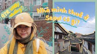 Bí quyết du học sinh thuê nhà ở SEOUL, HÀN QUỐC 💛Tự TRANG TRÍ phòng ONE ROOM  💛KÊNH CỦA HUYỀN 💛