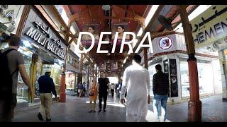 DUBAI-WALKING AROUND DEIRA
