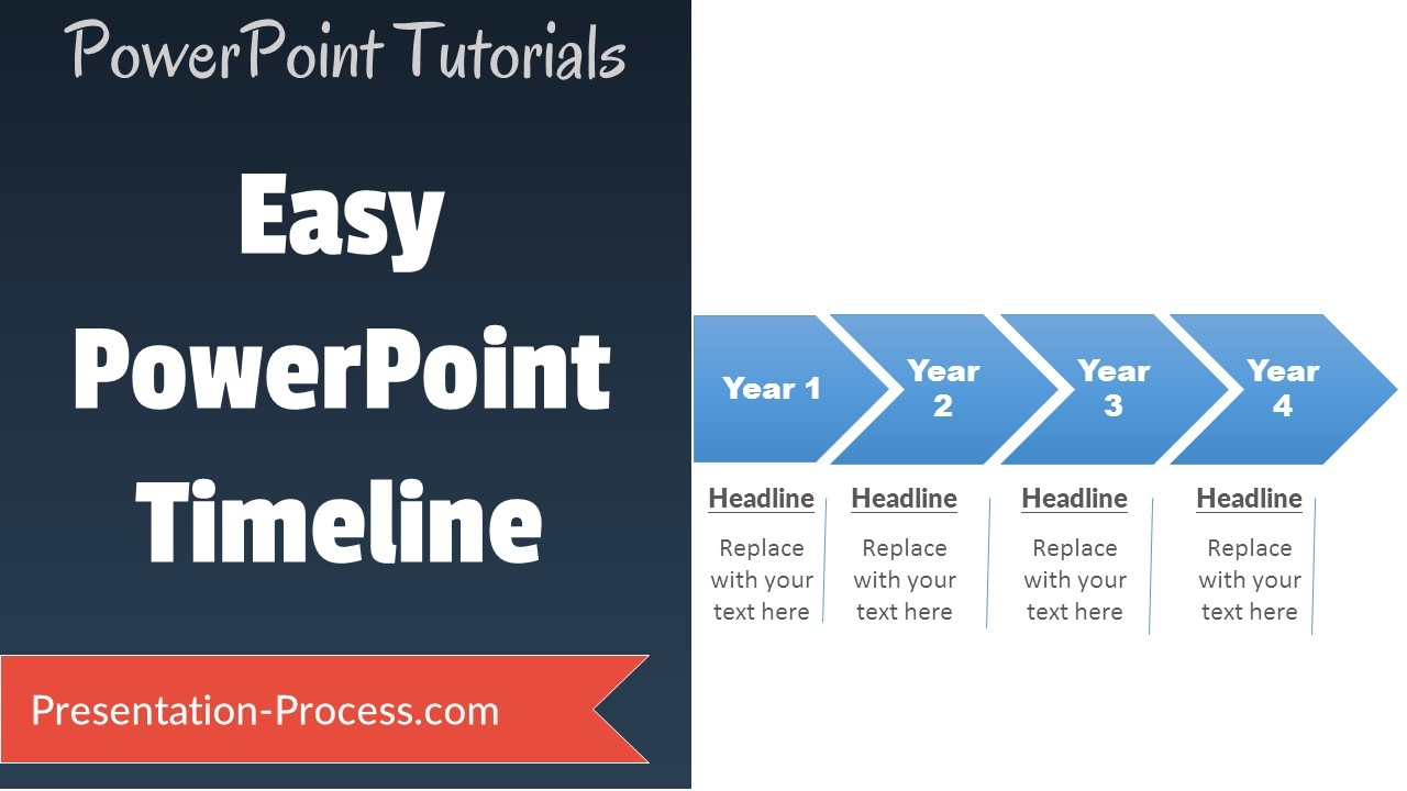 How To Create Timeline In Powerpoint Youtube