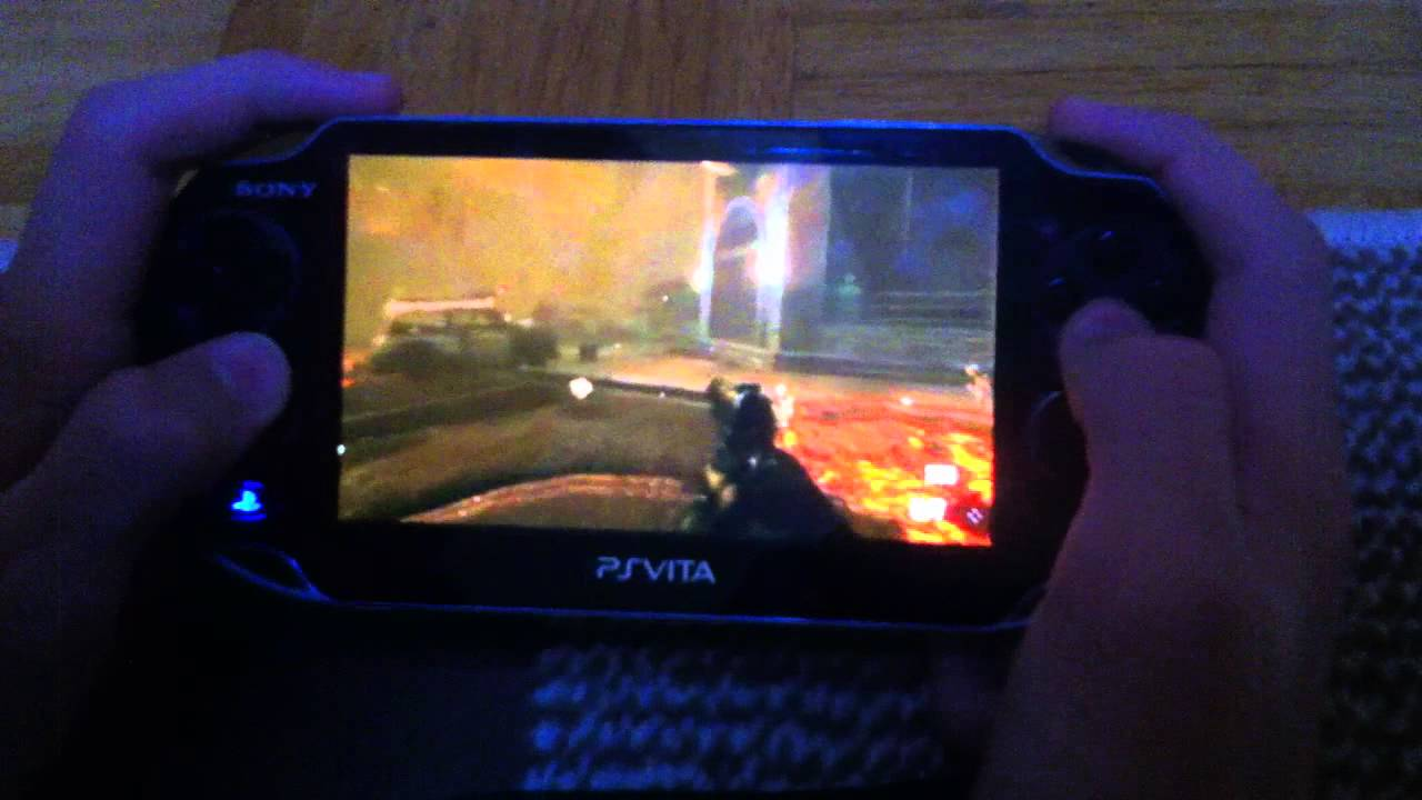 Ps Vita Cod Zombies: Call Of Duty : Black Ops 2 On PS VITA [ZOMBIE MOD]