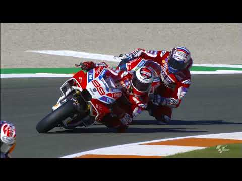 2017 #ValenciaGP - Ducati in action