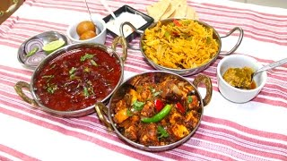 Restaurant Meal Menu under 45 Minutes with Shan Mixes from Bhavna's Kitchen