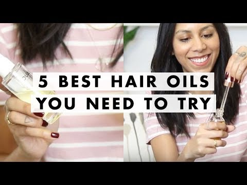 Top 5 Best Oils For Your Hair