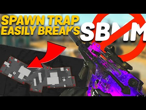 HOW to SPAWN TRAP in Cold War! (BEAT SBMM!)