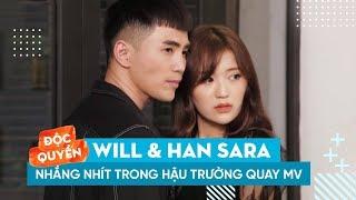 """❤️CẶP ĐÔI MỚI SHOWBIZ WILL & HAN SARA  NHẮNG NHÍT TRONG HẬU TRƯỜNG MV """"TẬN CÙNG NỖI NHỚ"""" BẢN HÀN"""