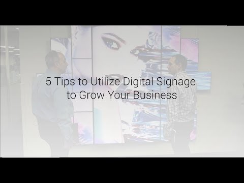 Mimo Monitors and BrightSign joined forces to share best practices in digital signage to maximize customer engagement. From making digital signage interactive and intuitive to use, and thinking outside-the-box, this video showcases and highlights tips for digital signage success.