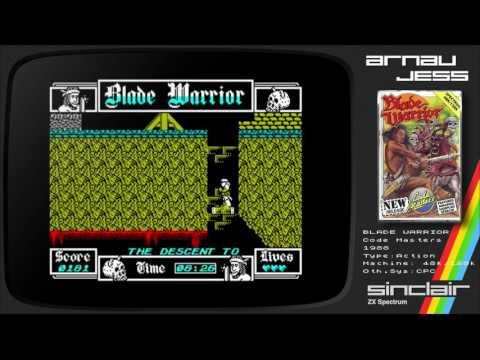 BLADE WARRIOR by Code Masters Ltd