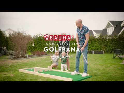 BAUHAUS Gör det själv - Bygg en minigolfbana
