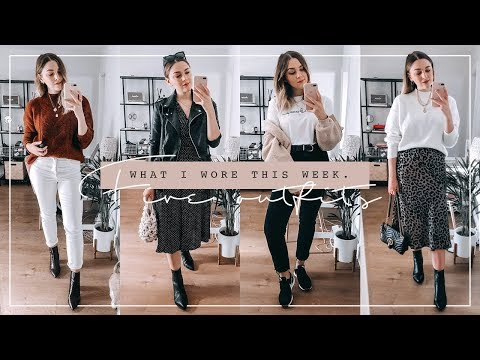WHAT I WORE THIS WEEK | FIVE AUTUMN OUTFITS | I Covet Thee