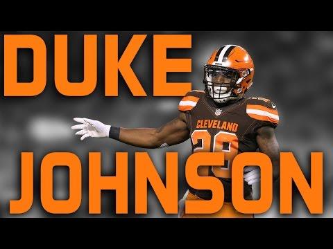 Duke Johnson Jr. Official Rookie Highlights