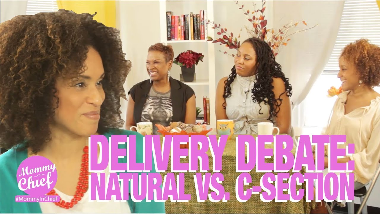 Delivery Debate: Natural Birth Vs. C-Section - YouTube