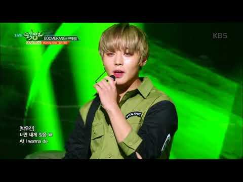 뮤직뱅크 Music Bank - BOOMERANG(부메랑) - Wanna One (워너원).20180406