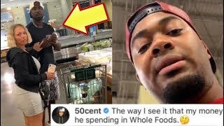 Young Buck Gets Confronted By 50 Cent Fan While Grocery Shopping (50 CENT REACTS)