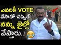 Nithin and Bandla Ganesh speak after casting their votes