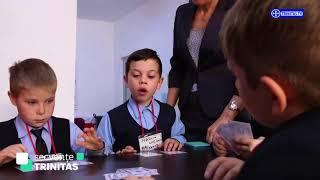 Secvente TRINITAS. Crucea Rosie, alaturi de copiii Romaniei (22 11 2017)