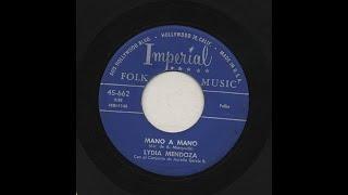 Lydia Mendoza - Mano A Mano - Imperial 662-b