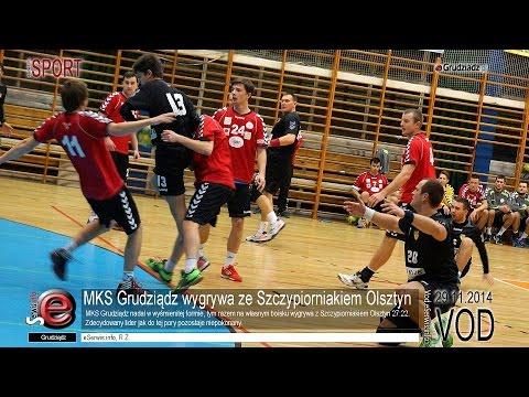 MKS Grudziądz wygrywa ze Szczypiorniakiem Olsztyn