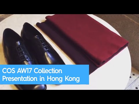COS AW17 Collection Presentation in Hong Kong