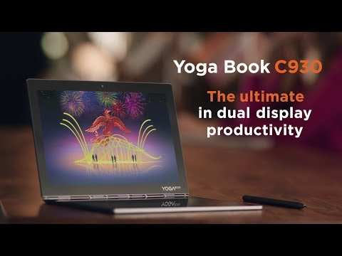 Yoga Book C930 - The ultimate in dual display productivity