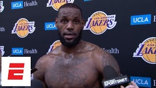 LeBron James after Lakers practice: 'Lonzo's gonna be great'   ESPN
