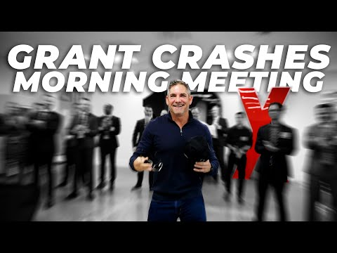 Grant Crashes Morning Meeting photo