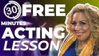 Free Acting Lesson. 30 minute beginners session. From LA Talent Manager.