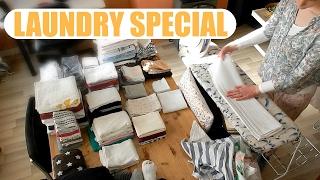 LAUNDRY   Washing, folding & ironing in timelapse!   VICINA LUCINDA
