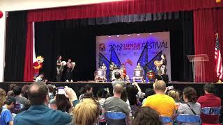 Drumming - 2018 Lunar New Year Festival - Houston