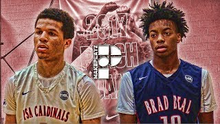 Cole Anthony and Darius Garland Go Head to Head in Peach Jam Tipoff!