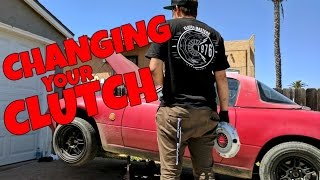 Caught Slippin: The ULTIMATE Miata Clutch Replacement Guide!